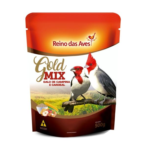 Galo de Campina e Cardeal Gold Mix 500g