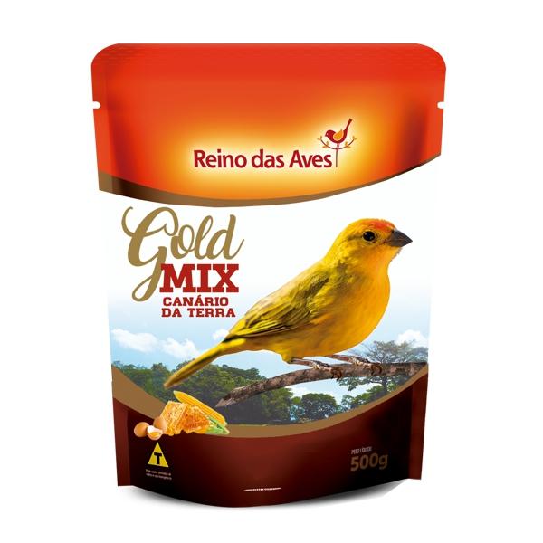 Canário da Terra Gold Mix 500g