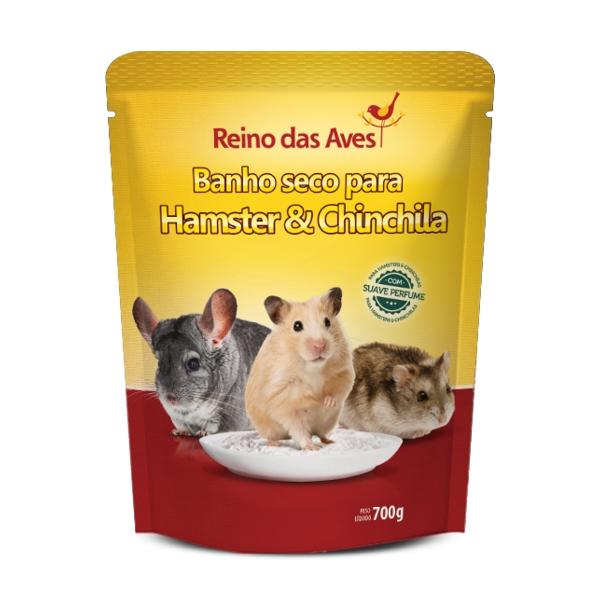 Banho Seco para Hamster e Chinchila 700g