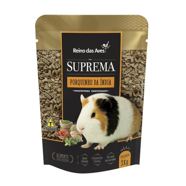 Suprema Porquinho da Índia 1kg
