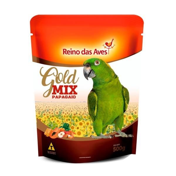 Papagaio Gold Mix 500g