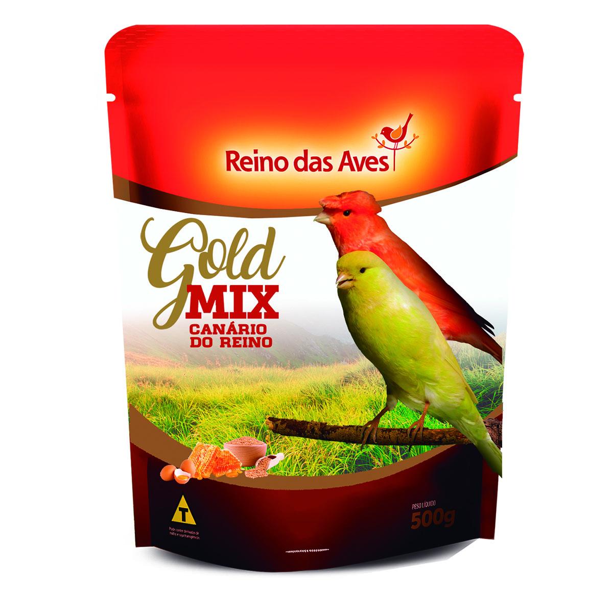 Canário do Reino Gold Mix 500g