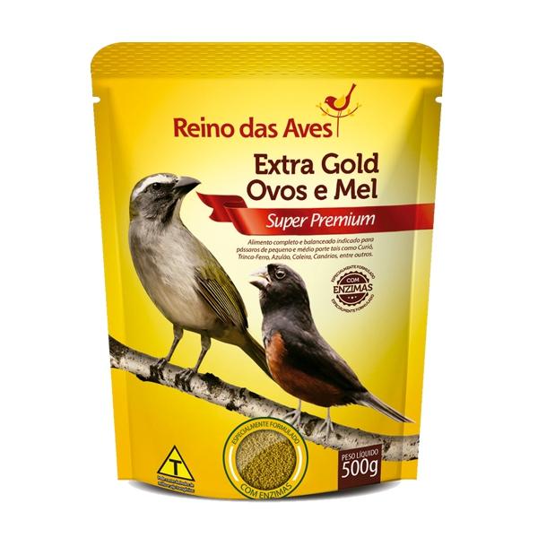 Extra Gold Ovos e Mel 500g