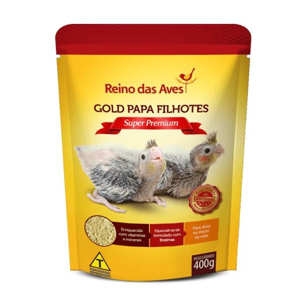 Gold Papa Filhotes (Refil) 400g
