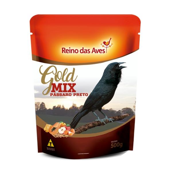 Pássaro Preto Gold Mix 500g