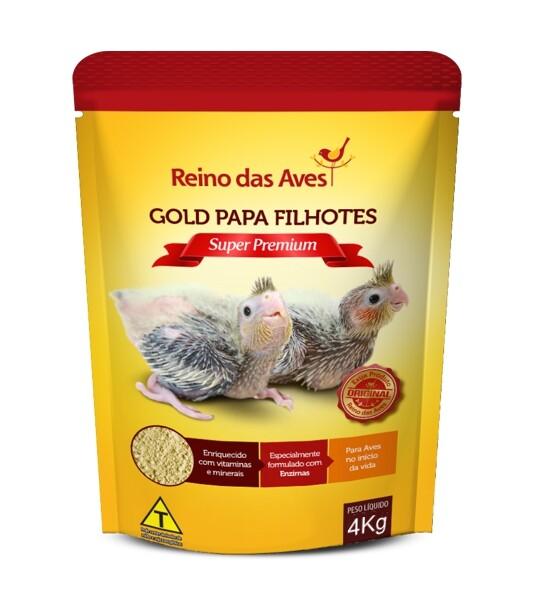 Gold Papa Filhotes 4kg