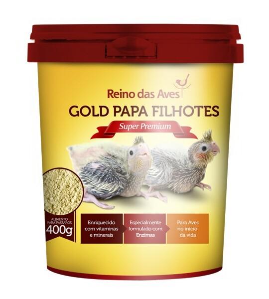 Gold Papa Filhotes (Pote) 400g